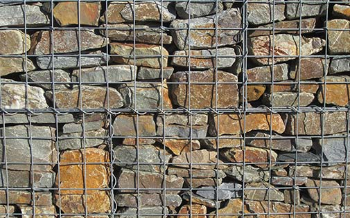 gabion as retaining wall